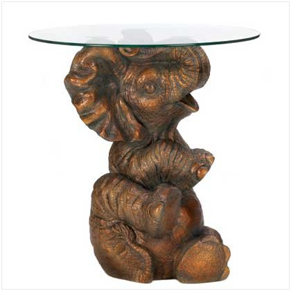 PLayful Elephant Accent Table Retail Price 169.95