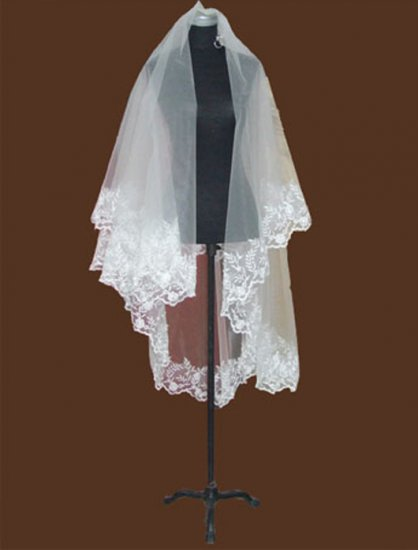Short Wedding Dress Accessories -Veil( VL005)