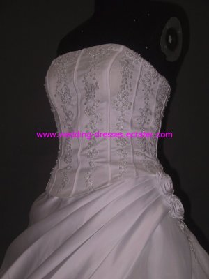 Real Wedding Gown / Sample Picture Of Factory(WD459)
