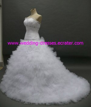 Real Wedding Dress / Sample Picture Of Factory(WD467)