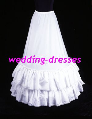 Wedding Dress Accessories-2Layers Underskirt/ Petticoat (PT017)