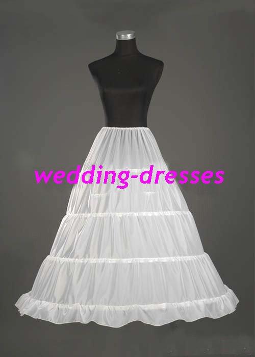 Wedding Dress Accessories-1Layer Underskirt/ Petticoat (PT018)