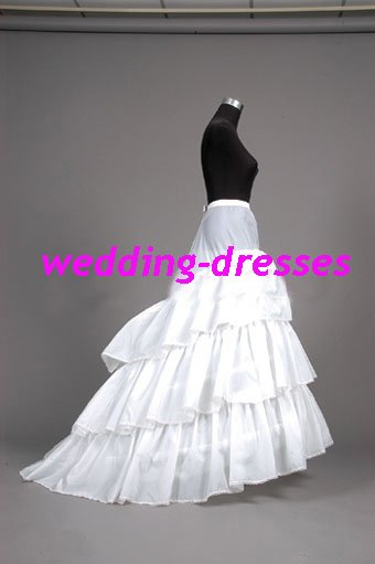 Wedding Dress Accessories-3Layers Underskirt/ Petticoat (PT019)