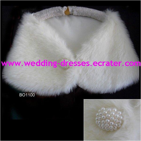 Fashion White Jacket / Wedding Dress Jacket 033