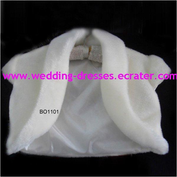 Fashion White Jacket / Wedding Dress Jacket 034