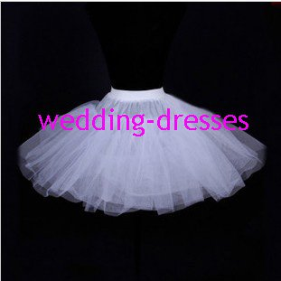 Wedding Dress Accessories-3Layers Underskirt/ Petticoat (PT021)