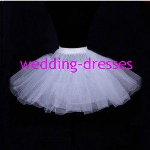 Wedding Dress Accessories-3Layers Underskirt/ Petticoat (PT021)