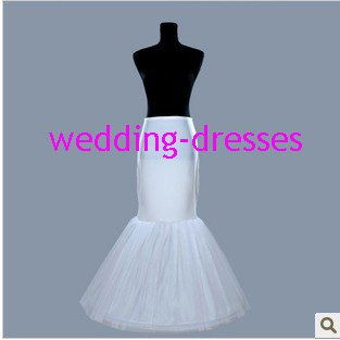 Wedding Dress Accessories-Mermaid Underskirt/ Petticoat (PT022)