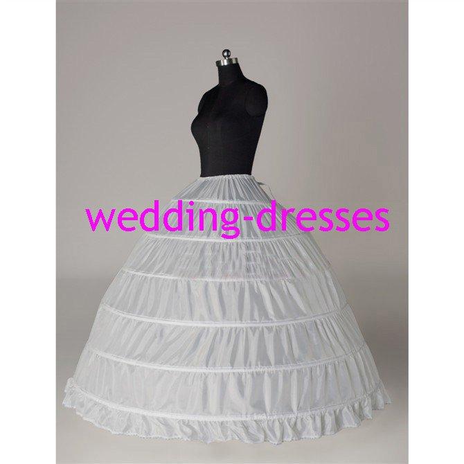 Wedding Dress Accessories-1Layer Underskirt/ Petticoat (PT024)