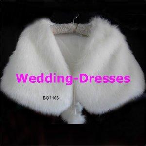 Fashion White Jacket / Bolero / Wedding Dress Jacket 038