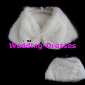 Hot Sale White Jacket / Bolero / Wedding Dress Jacket 039