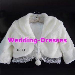 Hot Sale White Jacket / Bolero / Wedding Dress Jacket 040
