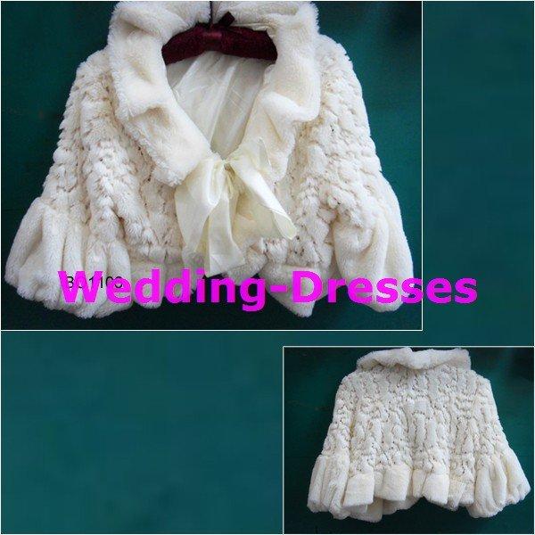 Hot Sale White Jacket / Bolero / Wedding Dress Jacket 041