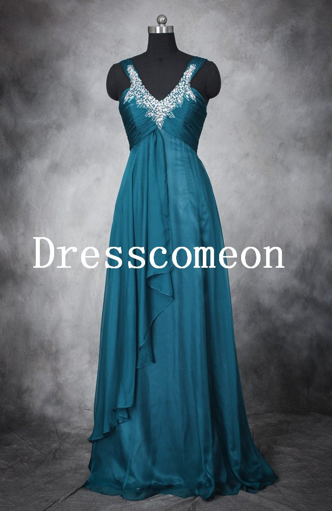 Wholesale A-line Halter Ruffles and Beadings Prom Dresses�Evening Dresses