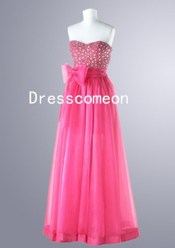 New Style A-line Sweetheart Beading Chiffon Prom Dresses (MD028)