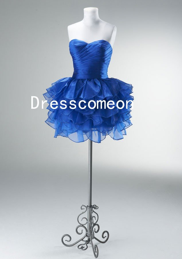 Sweetheart Cocktail Party Dress, Prom Dress, Tutu Party Dress, Bridesmaid Dress (MD048)