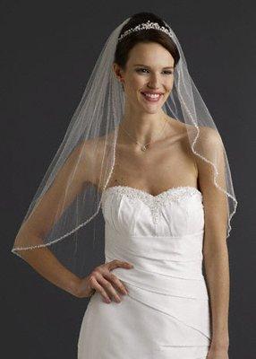 Wedding Dress Accessories -Veil  with  Comb(VL011)