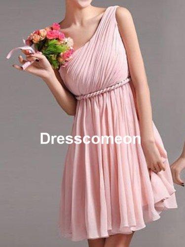A-line Knee Length Short Bridesmaids Dress ,Wedding Party Dress,Short Bridesmaid Dress,Prom Dresses