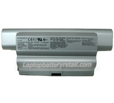 5200mAh Sony VGP-BPS8 Laptop Battery Replacement