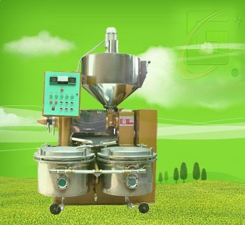 Automatic temperaturer controlled integration oil press