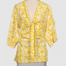 NWT Stella McCartney yellow strawberry blouse top 44 8