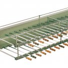BRAZILIAN ROTISSERIE SYSTEM FOR BBQ CHARCOAL GRILL - 55 SKEWERS