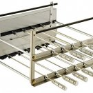 BRAZILIAN ROTISSERIE SYSTEM FOR BBQ CHARCOAL GRILL - 11 SKEWERS - RESIDENTIAL