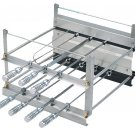BRAZILIAN ROTISSERIE SYSTEM FOR BBQ CHARCOAL GRILL - 7 SKEWERS - RESIDENTIAL