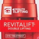 LOREAL REVITALIFT DOUBLE LIFTING EYE TREATMENT 0.5fl oz 1 MINUTE LIFTING