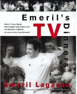 EMERIL'S TV DINNERS COOKBOOK  (HARD COVER)