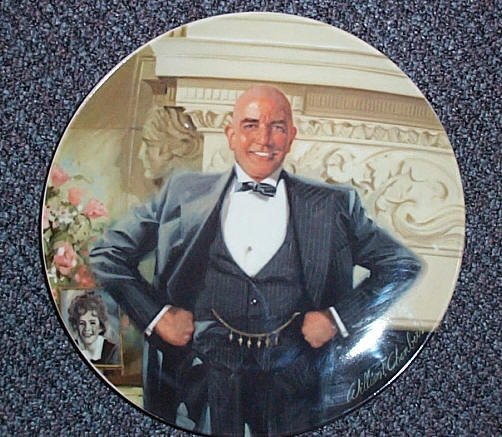 "Limited Edition ""Daddy Warbucks"" Collectors Plate"