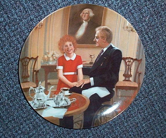 "Limited Edition ""Tomorrow"" Collectors Plate"