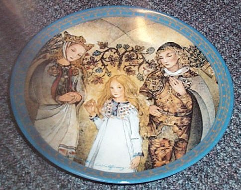 German 'Der Mittelpunkt' Collectors Plate