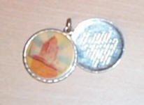 Beautiful Prayer Medallion with Serenity Prayer