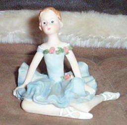 Adorable Collectible Ballerina Figurine