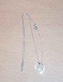 Beautiful Sterling Silver Holy Spirit Necklace and Chain.