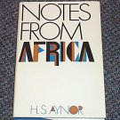 Notes From Africa