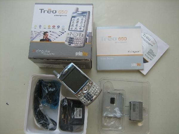 TREO 650 CARRIER RETURN