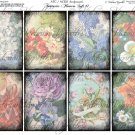 ATC/ACEO backs: Fantastic Flowers Soft #1