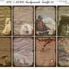 ATC/ACEO backs: Sealife #1