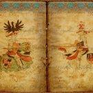 "8x10"" Digital Image: Medieval Knights Bookspread #1"