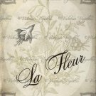 """8x10"""" Digital Image: La Fleur #1"""