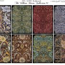 ATC/ACEO backs: The William Morris Collection #1