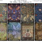 ATC/ACEO backs: The William Morris Collection #3