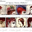 "2.5"" Squares: Victorian Redheads #1"