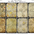 ATC/ACEO backs: The William Morris Collection #5