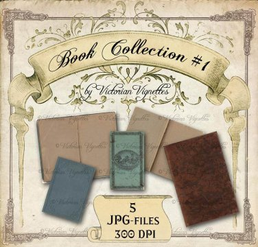 Digital Image Pack: Book Collection #1