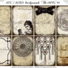 ATC/ACEO backs: The 1870's #1