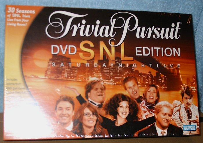 Trivial Pursuit DVD SNL Edition
