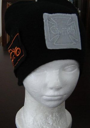 Black Orange County Choppers (OCC)Beanie Ski Hat